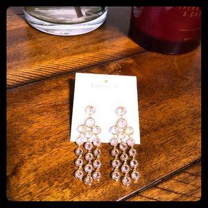 ♠️ Kate Spade Subtle Sparkle Blush Earrings ♠️